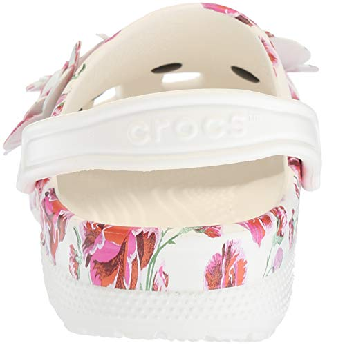 Pictures of Crocs Women's Classic Timeless Clash Roses Clog C13 8