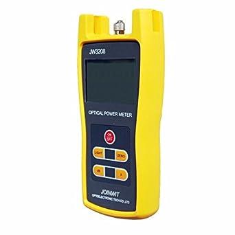 -50 A + 26dBm Digital óptico medidor de potencia de fibra óptica láser comprobador de herramienta: Amazon.es: Industria, empresas y ciencia