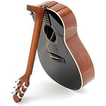 Voyage-Air Songwriter Series VAOM-04BK Folding Orchestra Model Acoustic Guitar, Jet-Black
