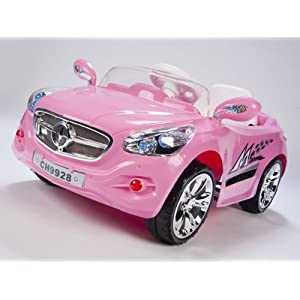 12V-Kids-Mercedes-AMG-Style-Pink-Ride-On-RC-Car-Remote-Control-Battery-Powered-Wheels-With-FM-radio-and-MP3-connection-NEW-MODEL