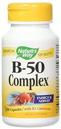Nature s Way – B-50 Complex 100 caps Pack of 3