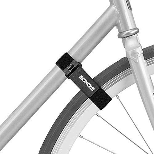 Boncas Adjustable Bike Rack Strap Bicycle Wheel