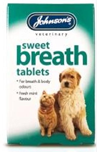 JOHNSONS SWEET BREATH TABS 30 - HEALTHY DOG & CAT – VETERINARY – CONDITION LEEWAY