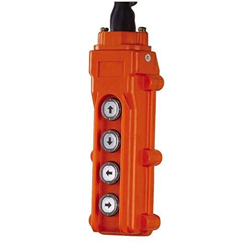 Jet Tools Jet Systems PBC-420CN, SS 4 Button Control Pendant 20' Lift Hoist & Trolley (152421)