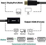 DisplayPort to HDMI, Benfei 4K DP Display Port to