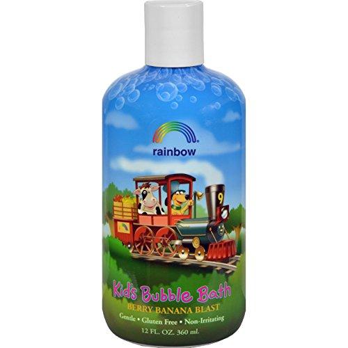(Rainbow Research Organic Herbal Bubble Bath For Kids Berry Banana Blast - 12 fl oz)