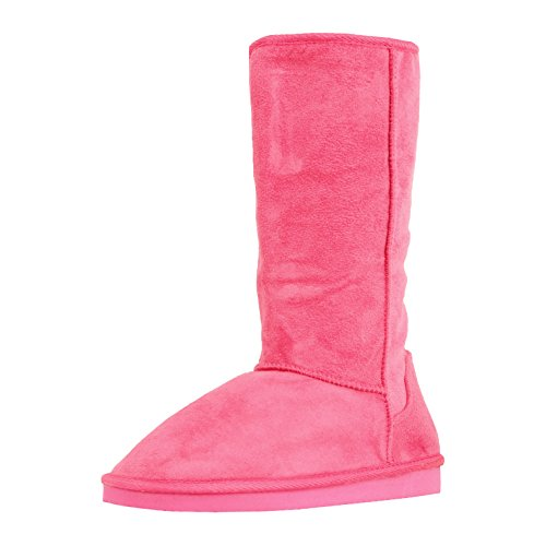Womens Pink Boots (West Blvd Chicagov2.0 Winter Boot Boots, Fuchsia Suede, 7.5)