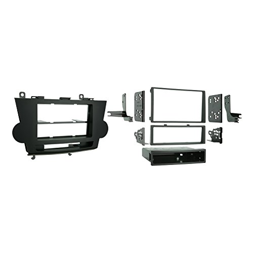 Metra Single DIN / Double DIN Installation Kit for 2008-2009 Toyota Highlander - Toyota 2008 Dash Highlander