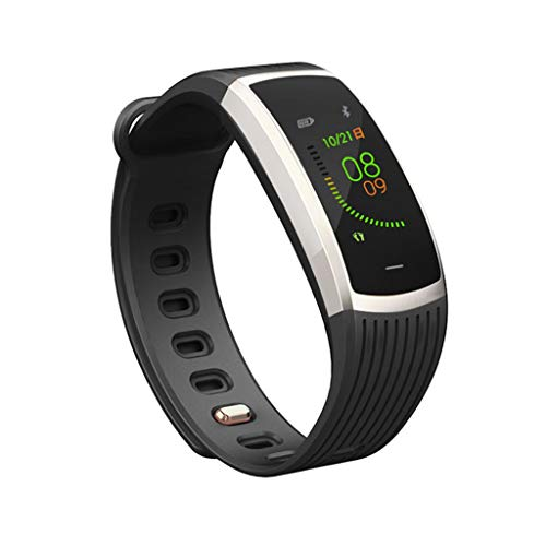 (vmree A18 Bluetooth Heart Rate Blood Pressure Monitor Sport Smart Watch Pedometer (Silver))