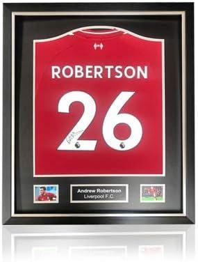 Desconocido Andy Robertson Liverpool 2018-19 - Camisa de casa ...