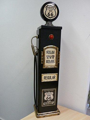 MEUBLE Range CD - pompe à essence bois bleu, style americain Retro ...