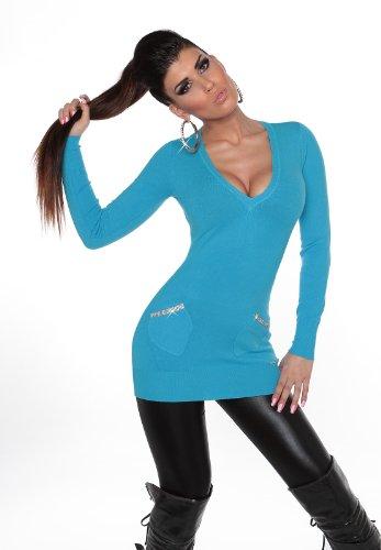 KouCla - Jerséi - para mujer turquesa