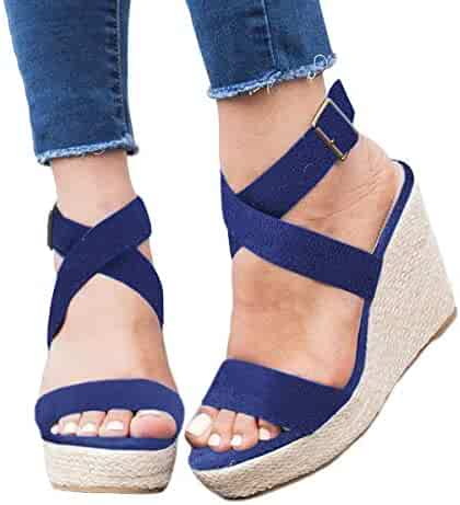 2dac795e675 Shopping Blue or Pink - 4 Stars & Up - Platforms & Wedges - Sandals ...