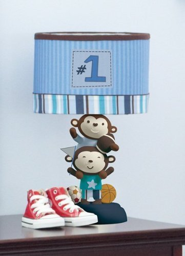 Summer Infant Lamp, Team Monkey - Boys Lamp