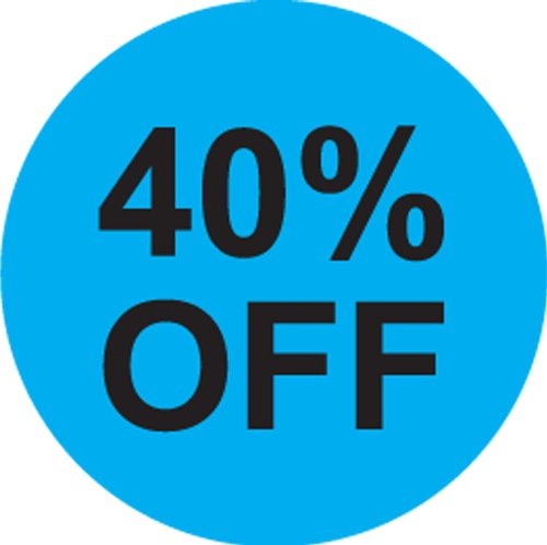 40% OFF Labels. 5, 000 Labels. PromoTouch Compatible Made in America
