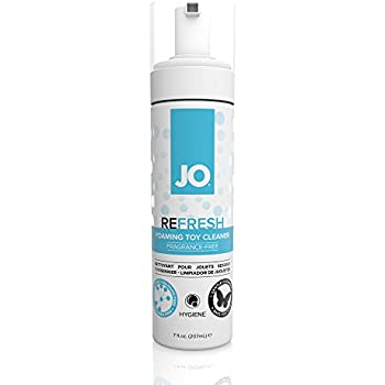 JO REFRESH Toy Cleaner, 7 Ounce Adult Toy Cleaner for Men, Women and Couples (Free of Glycerin)