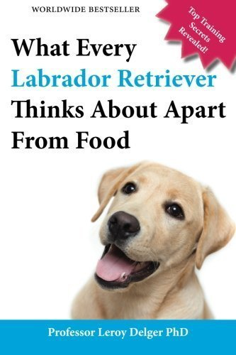 What Every Labrador Retriever Thinks About Apart From Food (Blank Inside/Novelty Book): A professor