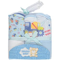 Snugly Baby Boys Hooded Towels 3-pack (Under Construction)
