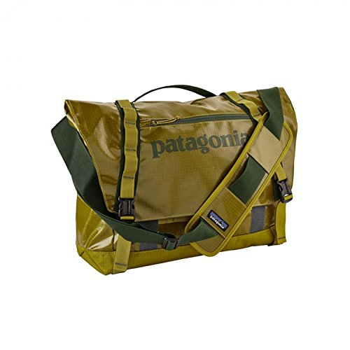 Patagonia Black Hole Messenger Bag 24L (Golden Jungle) by Patagonia