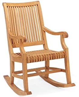 new grade a teak rocker rocking arm chair cushion not included whrkgv - Wooden Rocking Chair Cushions