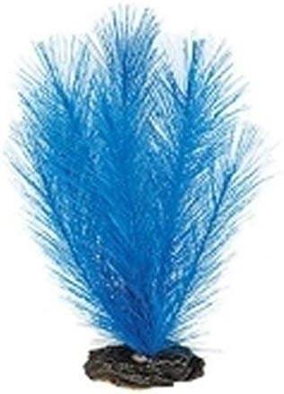 Betta Realistic Silk Artificial Aquarium Plants ~ 20cm Silk Blue Myriophyllum