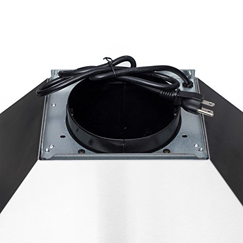 AKDY 30'' Wall Mount Stainless Steel Touch Control Kitchen Range Hood Cooking Fan by AKDY (Image #7)