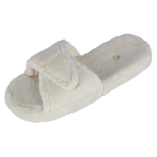 Acorn Women's Spa Slide II,Natural,US S M