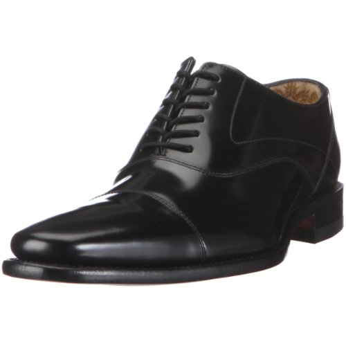 Black Polished Halbschuhe Sharp Klassische Sharp Schwarz Loake Herren YxnTfgaSq