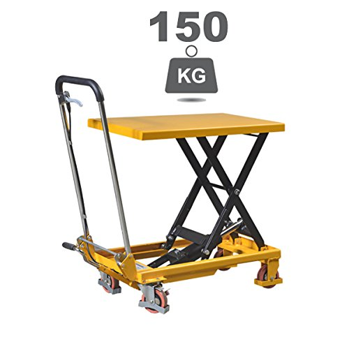 Table élévatrice Falconlift Standard Manual 150 Kg Amazon