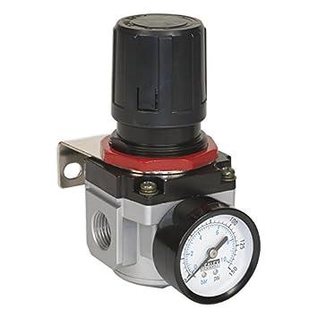 Sealey SA4001R - Regulador de aire de alto flujo: Amazon.es: Bricolaje y herramientas