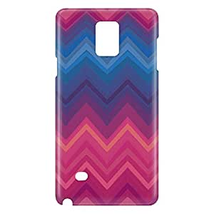 Loud Universe Galaxy Note 5 Cheveron Print 3D Wrap Around Case - Multi Color