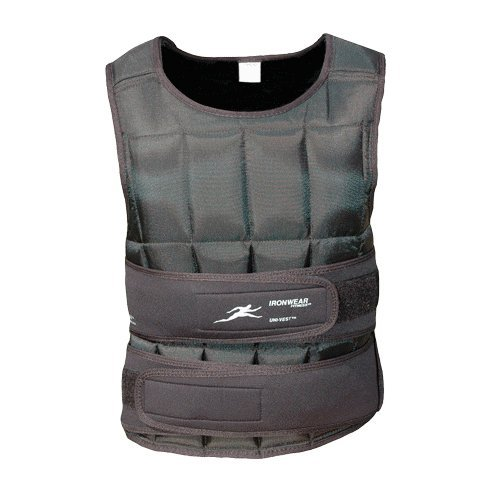 40 Lb Uni-vest (Long) Professional Weighted Vest by Ironwear