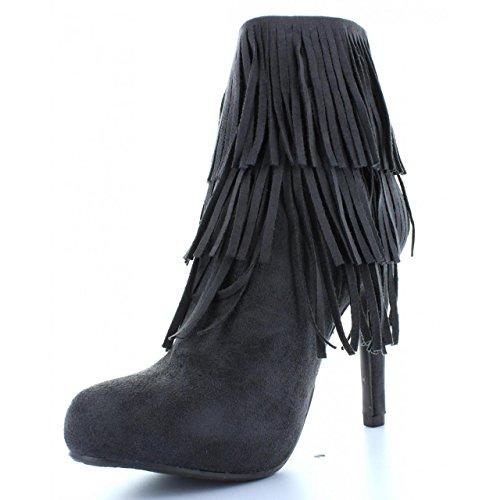 Boots für Damen XTI 28835 ANTELINA GRIS