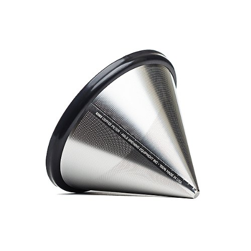 Able Brewing Kone Coffee Filter for Chemex Coffee Maker - stainless steel reusable - made in USA