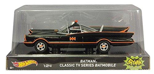 Hot Wheels Heritage Edition Classic TV Series Batmobile (1:24 Scale)