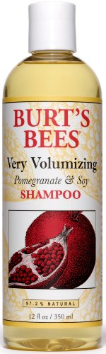 Burt's Bees Pomegranate & Soy Shampoo, 12-Ounce Bottles (Pack of 2)
