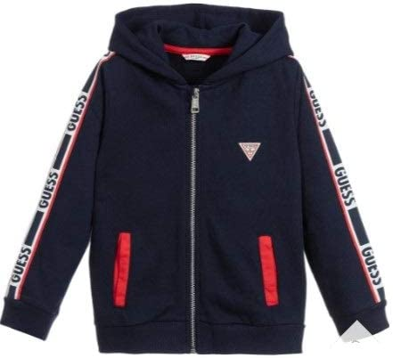 Guess Hooded LS Active Top WZip: Amazon.it: Abbigliamento