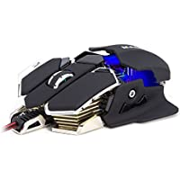 Masione USB 4800DPI 10 Button LED Optical Gaming Mouse