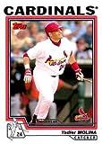 2004 Topps Baseball #324 Yadier Molina Rookie Card