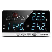Excelvan - LCD Estacion Meteorologica Inalambrica Digital