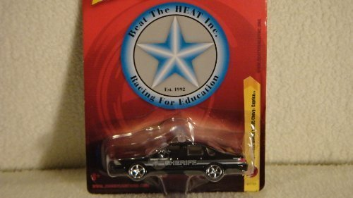 JOHNNY LIGHTNING 1:64 SCALE BEAT THE HEAT SERIES CAPT. FRANK WOODS'S 1995 CHEVY CAPRICE DIE-CAST POLICE CAR by Playing (Caprice Police Car)