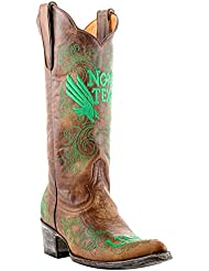 NCAA North Texas Mean Green Womens 13-Inch Gameday Boots