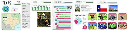 (Eureka Capstone Texas State Bulletin Board for Teachers Classroom Decorations Set, 5pc, 17'' W x 24'' H)