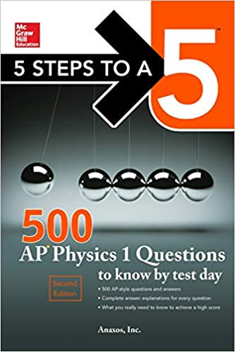 Amazon. Com: 5 steps to a 5 500 ap physics 1 questions to know by.