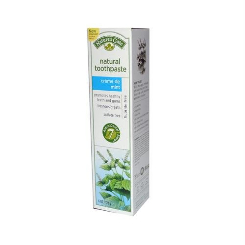 Drinks Creme De Menthe - Nature's Gate Natural Toothpaste, Creme de Mint 6 oz