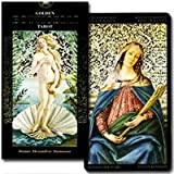 T0658 [''the birth of Venus'' in the Tarot, Golden Botticelli Tarot