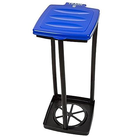 Portable Folding Camping Garbage Trash Bag Holder   Choose Color! (Blue)
