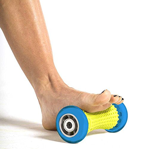 Foot Massager Roller for Plantar Fasciitis – Foot Pain Relief Acupressure Reflexology Tool – Relieve Heel, Foot and Arch Pain and Stress Manual Foot Massage