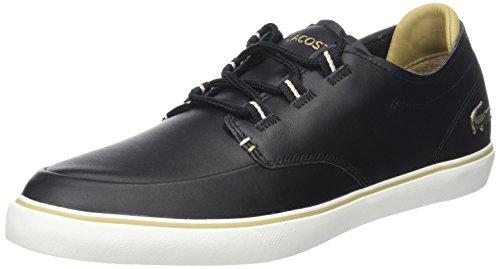 Hommes Lacoste De Pont 118 3 Chaussure Came Noir (noir / Tan Lt)