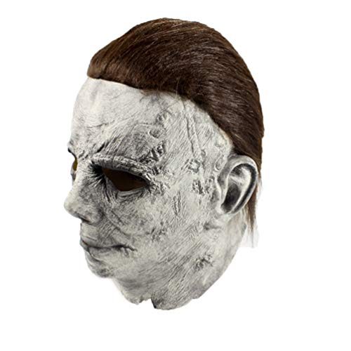 Halloween Costume Film Michael Myers Role Cos Head Deluxe Horror Mask -